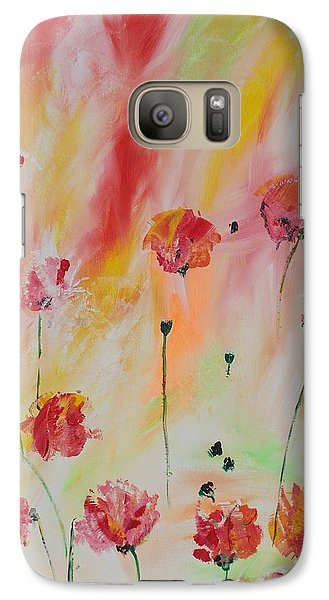 Galaxy Case featuring the painting Flanders Field by PainterArtist FIN