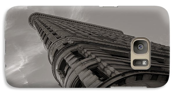 Galaxy Case featuring the photograph Flat Iron Building by Angela DeFrias