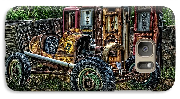 Galaxy Case featuring the photograph Flathead Ford Racer by Ken Smith