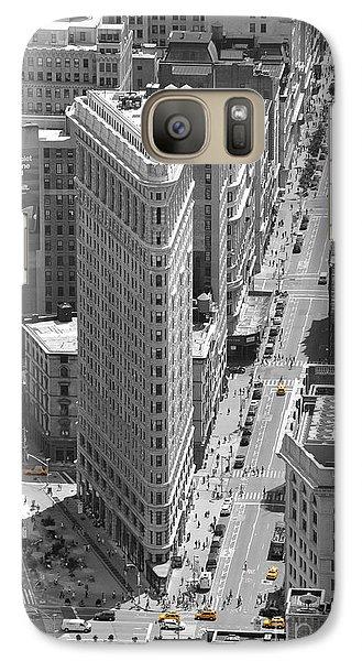 Galaxy Case featuring the photograph Flatiron Building by Randi Grace Nilsberg