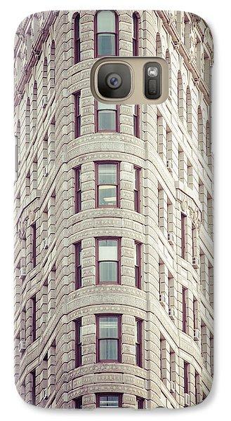 Galaxy Case featuring the photograph Flatiron Building by Takeshi Okada