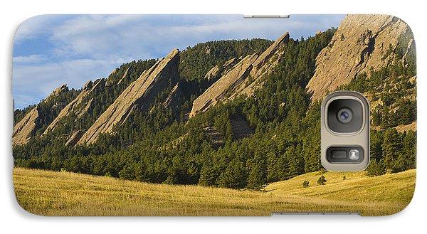 Flatiron Morning Light Boulder Colorado Galaxy S7 Case
