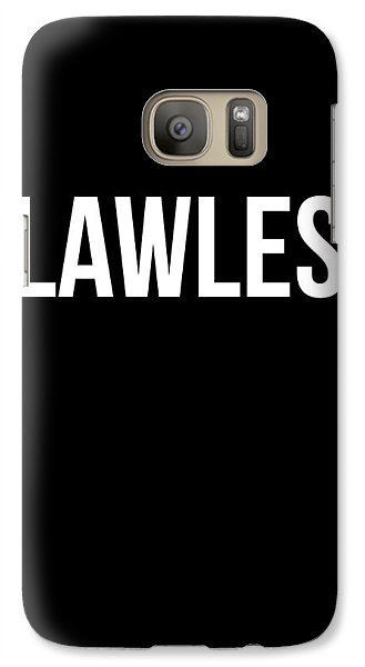 Flawless Poster Galaxy Case by Naxart Studio