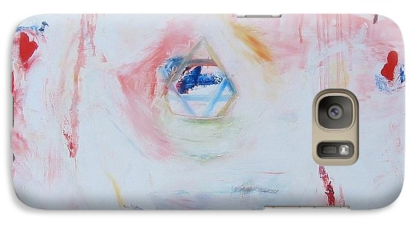Galaxy Case featuring the painting Flesh Of My Heart by Phoenix De Vries