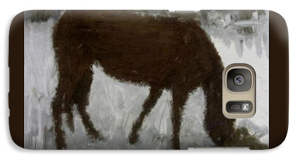 Galaxy Case featuring the painting Flicka by Bruce Nutting