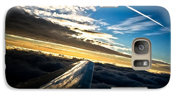 Galaxy Case featuring the photograph Flight 777 by Joel Loftus