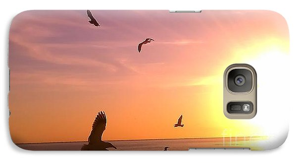 Galaxy Case featuring the photograph Flight Into The Light by Chris Tarpening