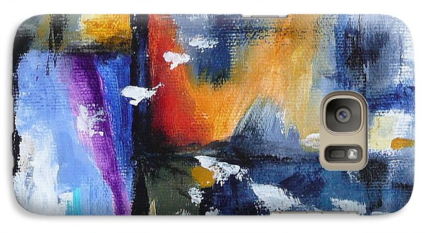Galaxy Case featuring the painting Flight by Jo Appleby