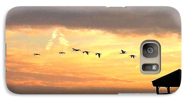 Galaxy Case featuring the photograph Flight Of Freedom by Joetta Beauford