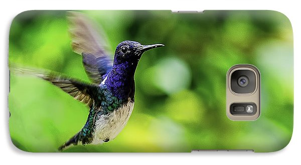 Galaxy Case featuring the photograph Flight Of The Hummingbird by Rob Tullis