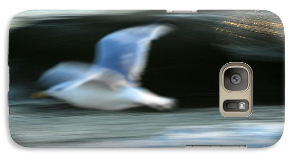 Galaxy Case featuring the photograph Flight Of The Seagull by Dan Myers