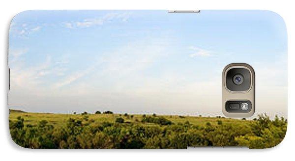 Galaxy Case featuring the photograph Flint Hills 2 by Brian Duram