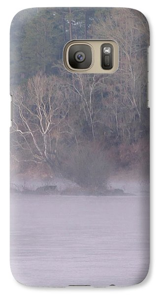 Galaxy Case featuring the pyrography Flint River 10 by Kim Pate