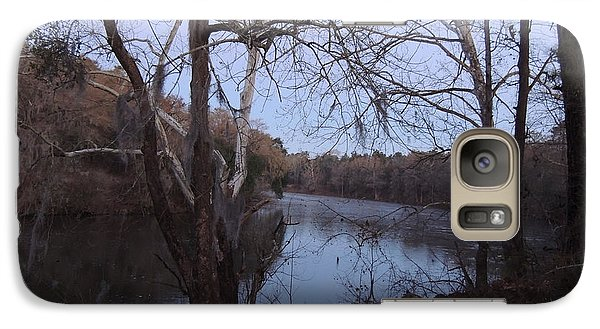 Galaxy Case featuring the photograph Flint River 4 by Kim Pate