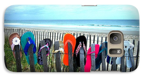 Galaxy Case featuring the photograph Flip Flops 2 by Conor Murphy