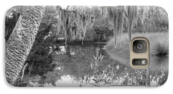 Galaxy Case featuring the photograph Fllorida Swamp Lan 380 by G L Sarti