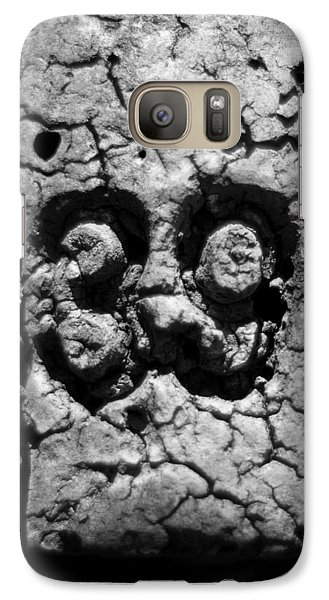 Galaxy Case featuring the photograph Float Number 39 - Black And White by Rebecca Sherman