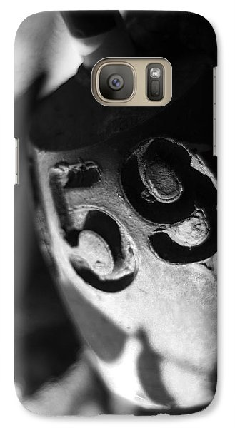 Galaxy Case featuring the photograph Float Number 59 - Black And White by Rebecca Sherman
