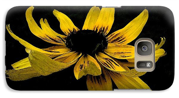 Galaxy Case featuring the photograph  Black Eyed Susan Suspense by Ecinja