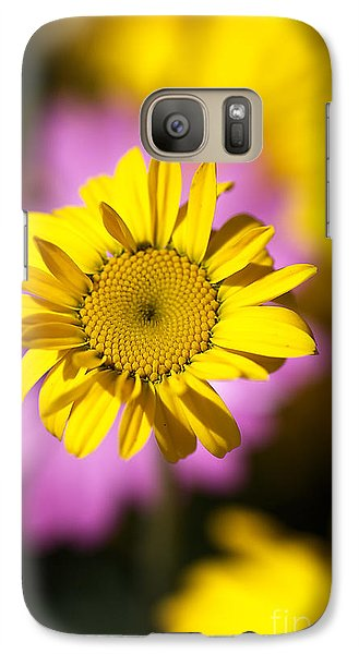 Galaxy Case featuring the photograph Floating Daisy by Joy Watson
