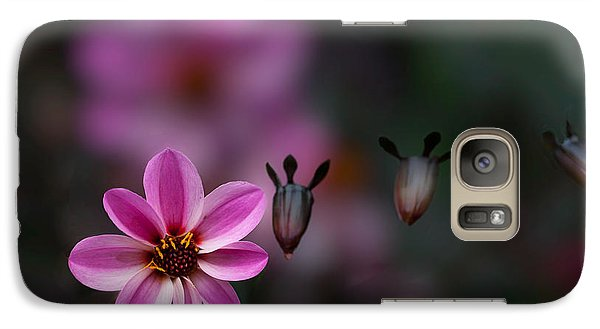 Galaxy Case featuring the photograph Floating by Jacqui Boonstra