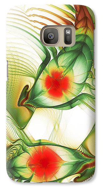 Galaxy S7 Case featuring the digital art Floating Thoughts by Anastasiya Malakhova