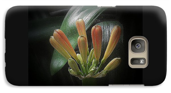Galaxy Case featuring the photograph Flora 1 by Andrew Drozdowicz