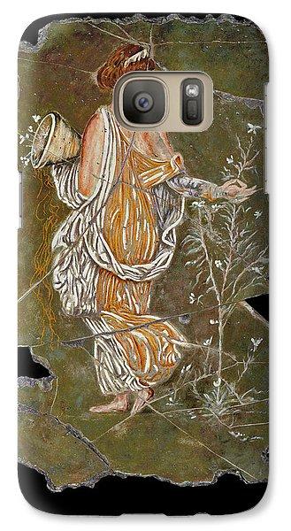 Flora Galaxy S7 Case