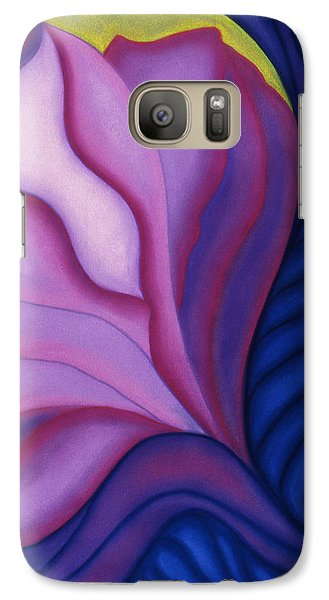 Galaxy Case featuring the pastel Flora by Susan Will