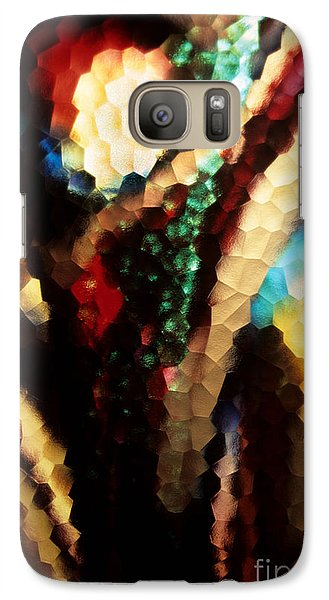 Galaxy Case featuring the photograph Floral Abstract I by Sharon Elliott