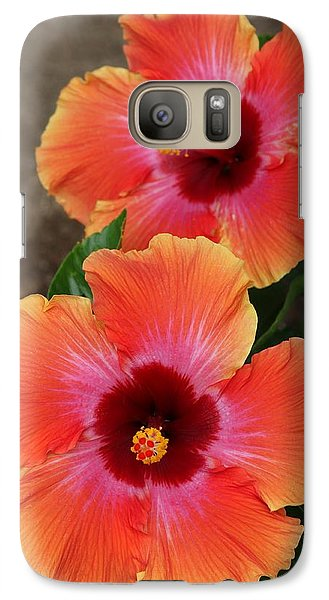 Galaxy Case featuring the photograph Floral Beauty 2  by Christy Pooschke