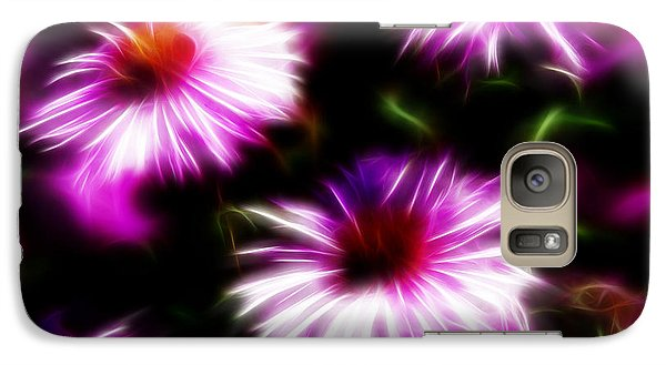 Galaxy Case featuring the photograph Floral Fireworks by Selke Boris