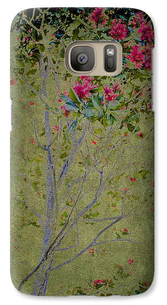 Galaxy Case featuring the photograph Floral Interlace by Linde Townsend