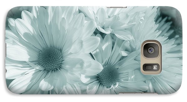 Galaxy Case featuring the photograph Floral Serendipity by Cathy  Beharriell