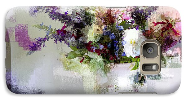 Galaxy Case featuring the photograph Floral Still Life II by Linde Townsend