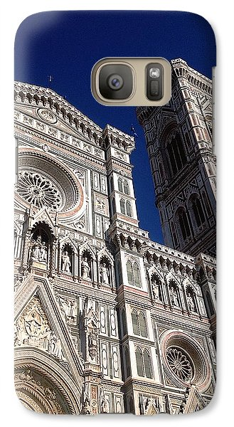 Galaxy Case featuring the photograph Florence - Il  Duomo by Delona Seserman