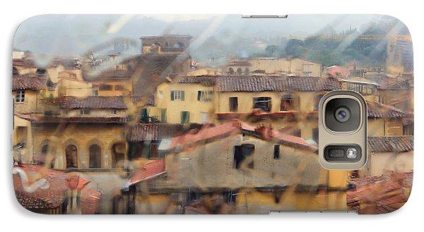 Galaxy Case featuring the photograph Florence In The Rain by Oscar Alvarez Jr