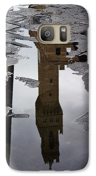 Galaxy Case featuring the photograph Florence Reflection by Henry Kowalski