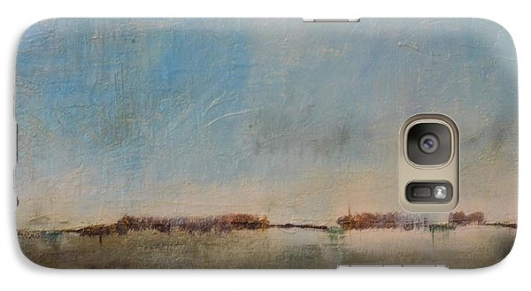Galaxy Case featuring the painting Florescence    by Lori Jacobus-Crawford