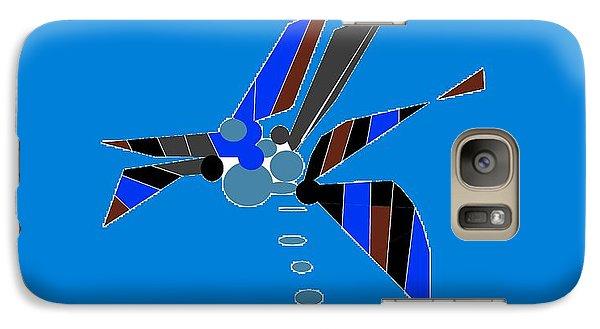 Galaxy Case featuring the digital art Florida Palm 2 by Ann Calvo