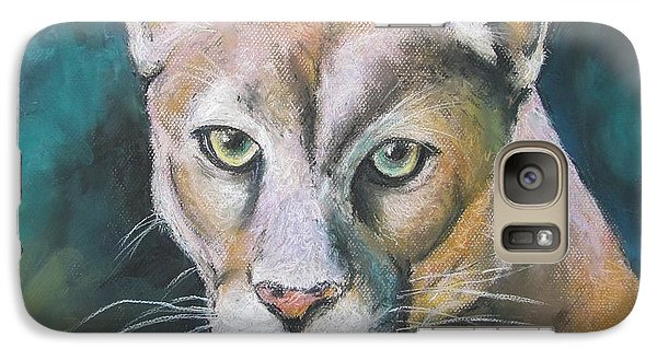 Galaxy Case featuring the painting Florida Panther by Melinda Saminski
