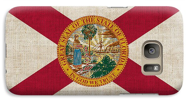 Florida State Flag Galaxy S7 Case by Pixel Chimp