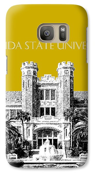 Florida State University - Gold Galaxy S7 Case by DB Artist