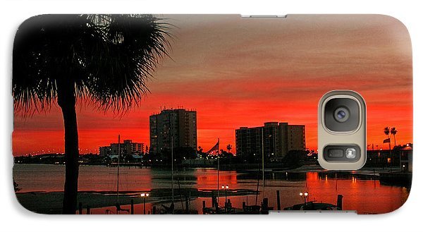 Galaxy Case featuring the photograph Florida Sunset by Hanny Heim
