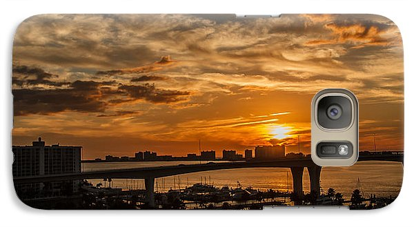Galaxy Case featuring the photograph Florida Sunset by Jane Luxton
