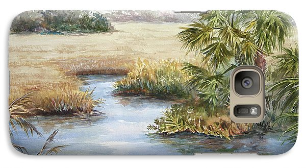 Galaxy Case featuring the painting Florida Wilderness IIi by Roxanne Tobaison