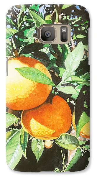 Galaxy Case featuring the painting Florida's Finest by Barbara Jewell