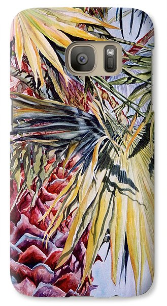 Galaxy Case featuring the painting Florida's Pride by Roxanne Tobaison