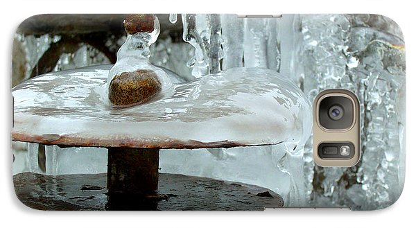 Galaxy Case featuring the photograph Flow Frozen by Heidi Manly