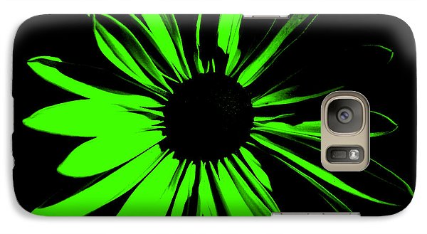 Galaxy Case featuring the digital art Flower 12 by Maggy Marsh